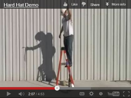 hard hat demo